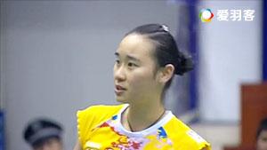 刘成/包宜鑫VS谌卓夫/黄东萍 2016中国羽超联赛 混双小组赛视频