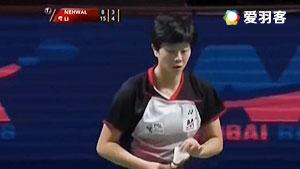 韩利VS内维尔 2016印度超级联赛 女单半决赛视频