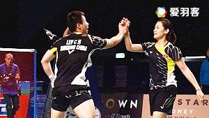 李晋熙/周凯华VS苏吉特/莎拉丽 2016马来黄金赛 混双1/16决赛视频