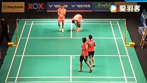 杜玥/李茵晖VS哈里斯/萨里 2016马来黄金赛 女双1/16决赛视频