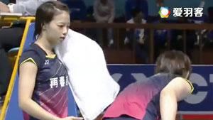 福岛由纪/广田彩花VS基蒂塔拉库尔/拉温达 2016马来黄金赛 女双1/8决赛视频