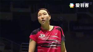 辛德胡VS成池铉 2016马来黄金赛 女单半决赛视频