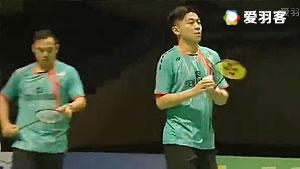 古健杰/陈文宏VS金基正/金沙朗 2016马来黄金赛 男双半决赛视频
