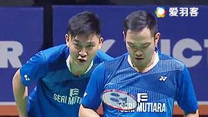 费尔纳迪/苏卡穆约VS古健杰/陈文宏 2016马来黄金赛 男双决赛视频