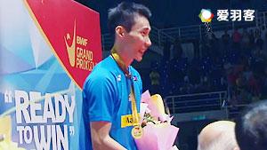 李宗伟VS伊斯干达 2016马来黄金赛 男单决赛视频
