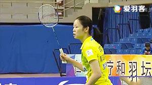 李雪芮VS姚雪 2016中国羽超联赛 女单小组赛视频