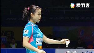 鲁恺/马晋VS张稳/黄东萍 2016中国羽超联赛 混双决赛视频