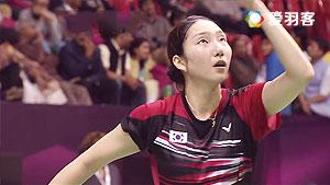成池铉VS佐藤冴香 2016印度羽毛球黄金赛 女单决赛视频