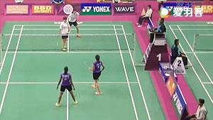 普缇塔/沙西丽VS马尼莎/瑞迪 2016印度羽毛球黄金赛 混双1/8决赛视频