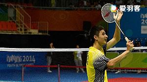 石宇奇VS张维峰 2016印度羽毛球黄金赛 男单1/8决赛明仕亚洲官网