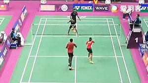 维什奴/巴兰VS兰基雷迪/马尼莎 2016印度羽毛球黄金赛 混双1/16决赛视频