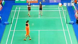 陈清晨/贾一凡VS张艺娜/李绍希 2016泰国大师赛 女双1/8决赛视频