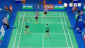 蒂亚拉/普拉蒂普塔VS阿纳斯塔西娅/达瑞娅 2016泰国大师赛 女双1/16决赛视频