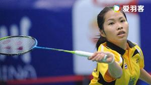 因达农VS李蔷美 2016泰国大师赛 女单1/16决赛视频
