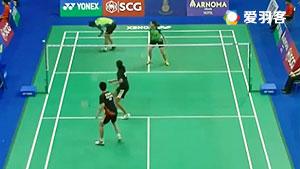 法蒂拉赫/安格莱尼VS南达什/捷艾尔丽 2016泰国大师赛 混双1/16决赛视频