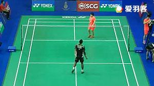 郑思维/陈清晨VS苏巴蒂亚/维德佳佳 2016泰国大师赛 混双1/16决赛视频
