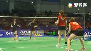 赫特里克/尼爾特VS奧利弗/L.史密斯 2016歐洲團體錦標賽 女雙小組賽視頻