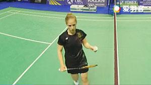 施纳泽VS查普曼 2016欧洲团体锦标赛 女单小组赛视频