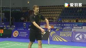 茨维布勒VS胡尔斯凯宁 2016欧洲团体锦标赛 男单1/4决赛视频