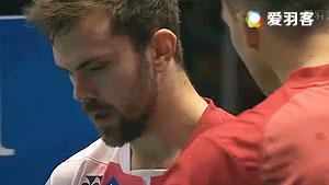 约根森VS茨维布勒 2016欧洲团体锦标赛 男单半决赛视频