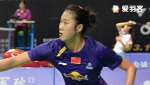 孙瑜VS裴延姝 2016亚洲团体锦标赛 女单半决赛视频