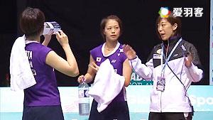福岛由纪/广田彩花VS穆斯肯斯/皮克 2016德国公开赛 女双1/16决赛视频