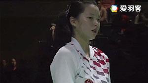 普缇塔/沙西丽VS琳达/劳拉 2016全英公开赛 女双1/16决赛视频