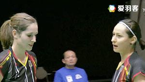 格里斯威斯基/尼尔特VS基蒂塔拉库尔/拉温达 2016全英公开赛 女双1/16决赛视频