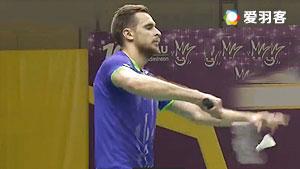 伊万诺夫/索松诺夫VS拉斐尔/卡斯巴尔 2016全英公开赛 男双1/16决赛视频