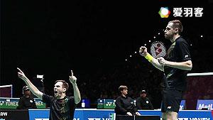 伊万诺夫/索松诺夫VS刘小龙/邱子瀚 2016全英公开赛 男双1/4决赛视频