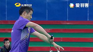 许峻峰/郑昊VS熊俊/杨颖 2016贺岁杯对抗赛 男双小组赛视频