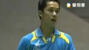 林丹VS陶菲克 2006日本羽毛球公开赛  男单决赛视频