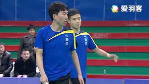 路源/杨霖飞VS望开力/何奕峰 2016贺岁杯对抗赛 男双小组赛视频