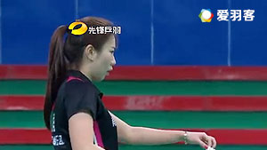 申瑛/李智VS李婕/駱一婷 2016賀歲杯對抗賽 女雙小組賽視頻