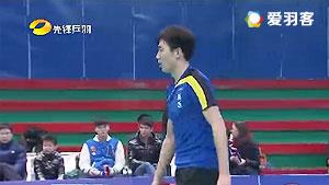 李柯乐VS刘瀚滔 2016贺岁杯对抗赛 男单小组赛视频
