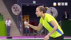 博洛托娃/科塞兹卡娅VS格里斯威斯基/尼尔特 2016奥地利公开赛 女双半决赛视频