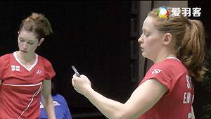 奥利弗/L.史密斯VS维森特/维森特 2016瑞士公开赛 女双1/16决赛视频