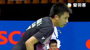 坦农萨克VS胡赟 2017新加坡公开赛 男单1/8决赛视频
