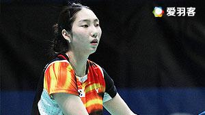 成池铉VS陈雨菲 2016新西兰公开赛 女单1/4决赛明仕亚洲官网