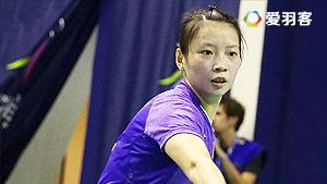 黄雅琼/汤金华VS林沛叶/宋佩珠 2016马来公开赛 女双1/16决赛视频