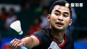 黄永棋VS苏吉亚托 2016马来公开赛 男单1/16决赛视频