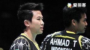 艾哈迈德/纳西尔VS王懿律/陈清晨 2016马来公开赛 混双1/16决赛视频