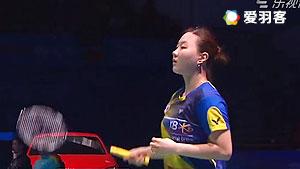 郑景银/申升瓒VS尼蒂娅/波莉 2016马来公开赛 女双半决赛视频