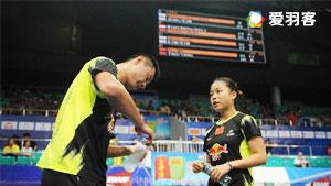 徐晨/马晋VS陈润龙/谢影雪 2016新加坡公开赛 混双1/16决赛视频