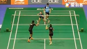 乔普拉/瑞迪VS法蒂拉赫/安格莱尼 2016新加坡公开赛 混双1/16决赛视频
