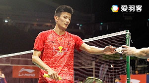 伍家朗VS谌龙 2016新加坡公开赛 男单1/4决赛视频