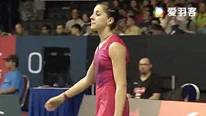 山口茜VS马琳 2016新加坡公开赛 女单1/4决赛视频