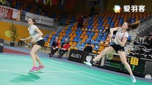 奥利弗/L.史密斯VS德尔吕/巴勒莫 2016法国国际公开赛 女双决赛视频
