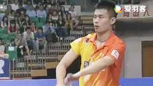 乔斌VS波萨那 2016中国大师赛 男单资格赛视频