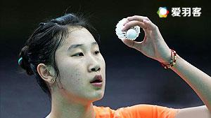 孙瑜VS梁晓宇 2016中国大师赛 女单1/16决赛视频